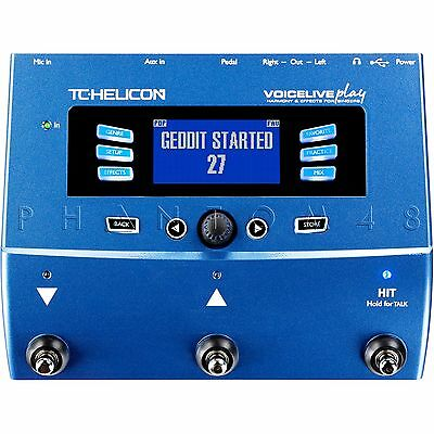 TC-Helicon VoiceLive Play Vocal Harmony & Multi-Effects Processor Pedal