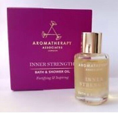 AROMATHERAPY ASSOCIATES Inner Strength Bath & Shower Oil 7.5ml NEW