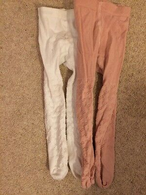 Girl Tights Age 2-3 X2 Pairs