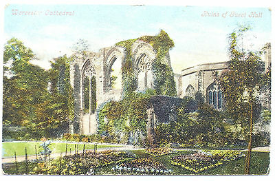 Postcard of Worcester Cathedral