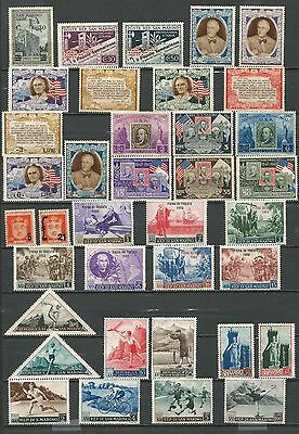 San Marino 1942.1959 Mixed Collection No Gum/ Mint Hinged (3 Scans)