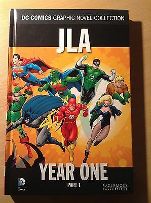 DC Comics Graphic Novel Collection JLA Year one part 1