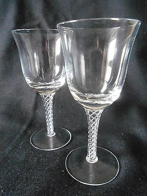Pair of glasses with Air twist Detail To Stem