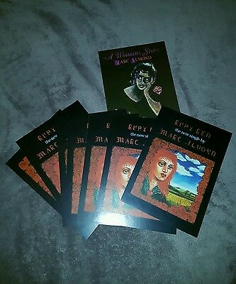 Marc Almond Ruby Read A Womans Story Promo Postcards Very Rare Soft Cell