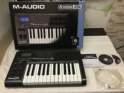 M-Audio Axiom 25 Key Midi Keyboard