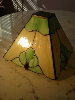 Leaded Glass Tiffany Glass Shade For Light