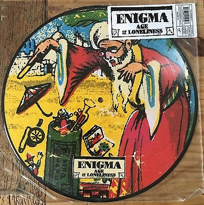 """Enigma 'Age Of Loneliness' 12"""" picture disc"""