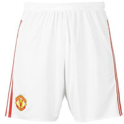 adidas Manchester United Home Shorts 2015 2016 Junior SIZE/15-16 YRS