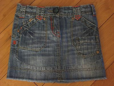 Next Girls Denim Skirt    Age 3 Yrs