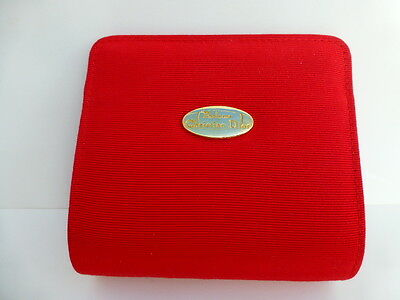 TROUSSE rouge Christian DIOR vide , collection, maquillage