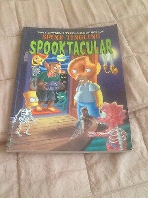 The Simpsons Spooky Graphic Novel *spooktacular* 1St.edition , 2001 *u.k.auction