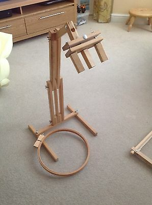 embroidery and cross stitch stand and frames