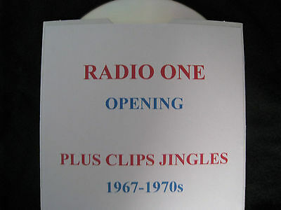 Radio One Opening plus Clips Jingles 1967-1970s, not pirate radio