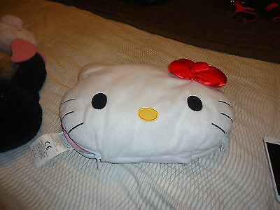 Rare Hello Kitty Plush Speaker Pillow For Tunes On Mp3 Cd Dvd Player I Pad Phone