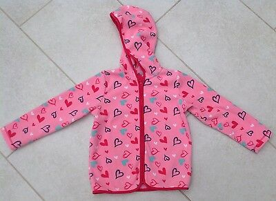 Girls Mothercare Lightweight Fleece Jacket, Aged 4-5 Years