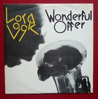 "LORA LOGIC - Wonderful Offer (1981 3 trk 12"" single in PS)"