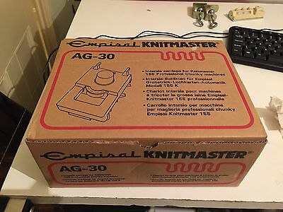 Knitting Machine Intasia Carriage Ag-30 For Empisal, Knitmaster, Silver Reed