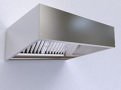 Commercial Kitchen Extraction Kit Canopy Hood 2000mm 7 Foot