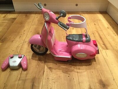 Baby Born remote control scooter