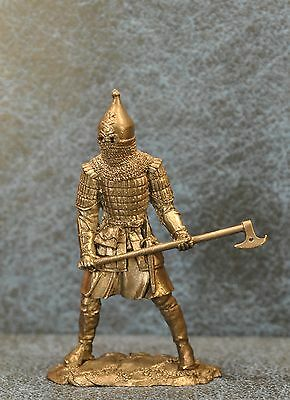 Tin Soldiers * Heavily armed Russian warrior, 14th century * 54 mm
