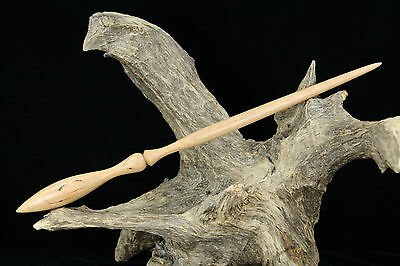 Cherry Wood Wand – Wicca Magic Wooden Witch Wizard Fairy Potter Mystic Spell