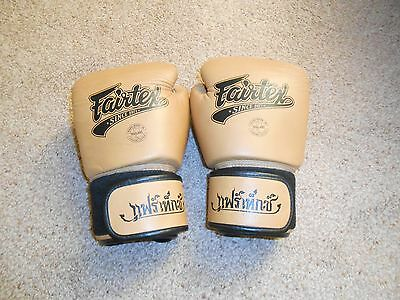 Fairtex 16 oz MuayThai Boxing Gloves New without Tags
