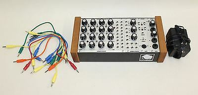 PITTSBURGH Modular Synthesizer System 10.1 US-Power Supply Patch Cable Set