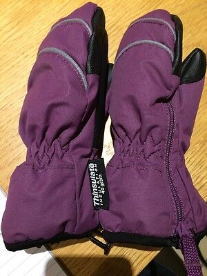 Thinsulate Winter Mittens Age 3 To 4