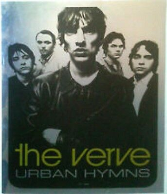 THE VERVE Urban Hymns Mylar Promo poster