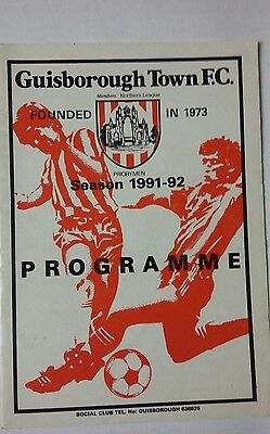 Guisborough Town v Whitby Town North Riding Senior Cup 1991/92
