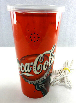 Collectible Coca Cola Cup Wired Pushbutton Telephone