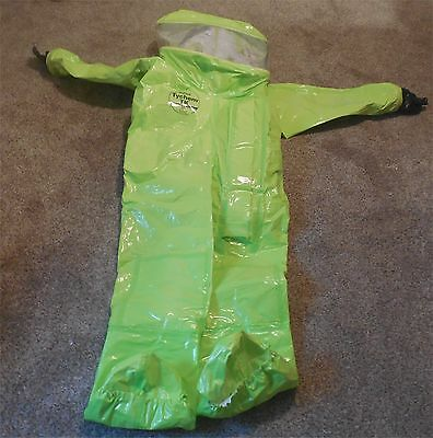 New Dupont Tychem TK Commander Level A Suit - Extra Large
