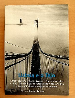 Lisboa e o Tejo, Book of 15 Photographic Postcards by Various Photographers