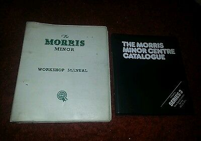 MORRIS MINOR FACTORY WORKSHOP MANUAL SERIES MM II 1000 and MM CENTRE CATALOGUE