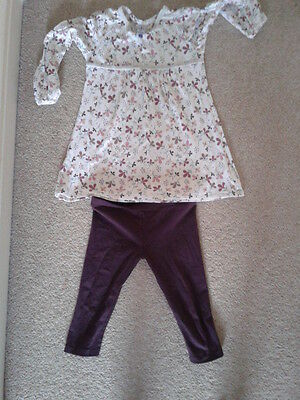 Girls Top And Leggings Outfit Age 5 From Junior J Range At Debenhams