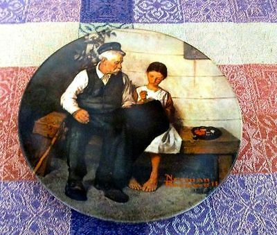 """The Lighthouse Keeper's Daughter "" Rockwell Heritage Collection"