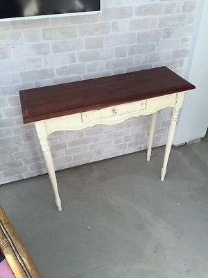 Laura Ashley Bramley Hall Table Console Table Solid Wood Telephone Shabby Chic