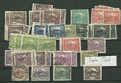 Czechoslovakia selection of used stamps 1918-1972
