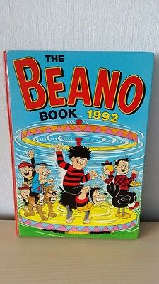 The Beano Book 1992 Annual Hardcover A4 Size Excellent Cond.