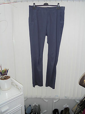 """Rohan 'Escapers' Mens Size 36"""" Long Ink Blue Hiking/Walking Trousers"""