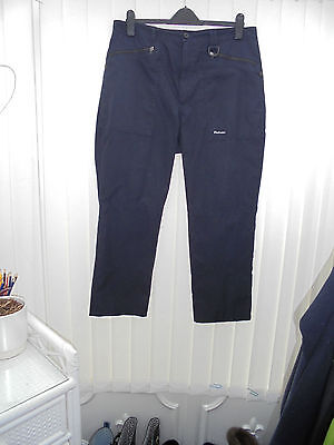 "Rohan 'Bags' Mens Size 38"" Navy Blue Hiking/Walking Trousers"