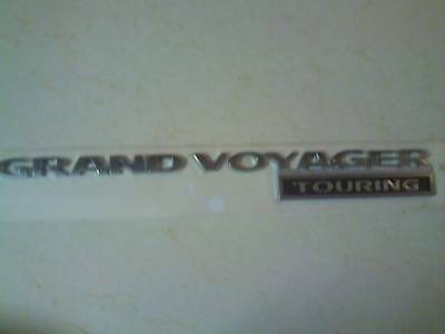 Plymouth Grand Voyager Touring Badge
