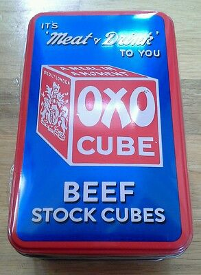 Oxo tin 'It's 'Meat & Drink' to You