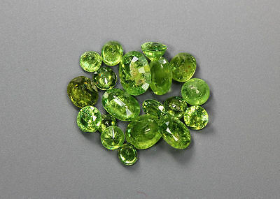 7.96 Cts_Wow !!!! Amazing Whole Sale Lot_100 % Natural Russian Demantoid Garnet