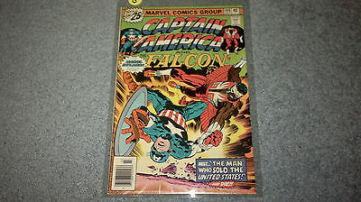 CAPTAIN AMERICA AND FALCON Marvel Comics #199 (Plastic Sleeve) Discount Shipping