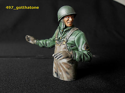 1/16 RC AMERICAN TANK  COMMANDER PRO-PAINTED  HENG LONG. 120mm see pics.
