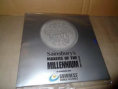 Makers Of The Millenium Medal Collection By Sainsburys Never Opened
