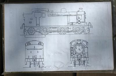 3mm (British TT) Finney & Smith LNER N7 0-6-2T Etched Brass Kit w/wheels 14.2 mm