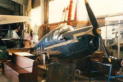 Civil Aircraft Photo Of A Moth Monor Photograph Picture Of A Plane In The Hanger