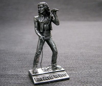 Ac/dc / Bon Scott  - Beautiful , Fine Detailed , Tin Metal Figure - Mint !